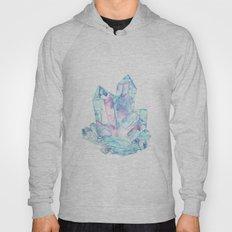 Pink Blue Crystal Cluster Hoody
