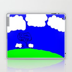 Watching the Clouds Go By Laptop & iPad Skin