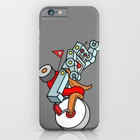 iPhone & iPod Case featuring Hot Wheeling Robot Love by the art of dang
