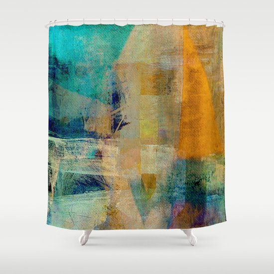 農民 (The Peasant) Shower Curtain