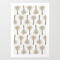 Banana Tree Art Print