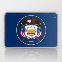 Utah State Flag - Authen… Laptop & iPad Skin