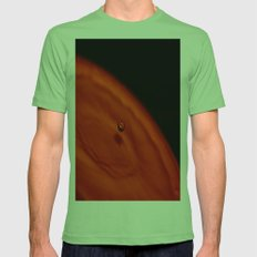 Water Drop Mens Fitted Tee Grass SMALL