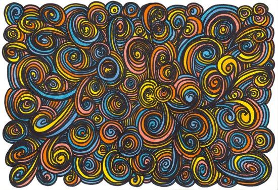 Let Go - color Art Print