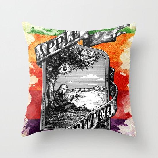 The Apple iVolution Throw Pillow