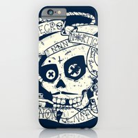 iPhone & iPod Case featuring Necro Nautical Nonsense  by scott white