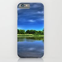 iPhone & iPod Case featuring Rock Cut State Park - HDR by Ornithology