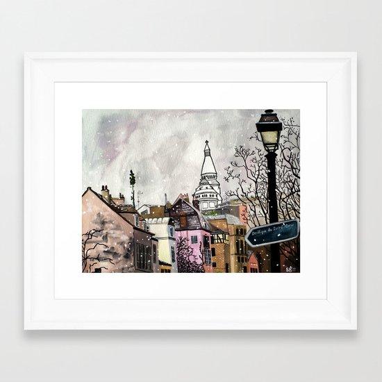 Sacre-Coeur Framed Art Print