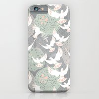 Doves And Flowers iPhone 6 Slim Case