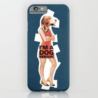 iPhone & iPod Case featuring Dog Person by Prince Arora