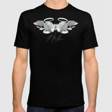 Klevra Peralta Black SMALL Mens Fitted Tee