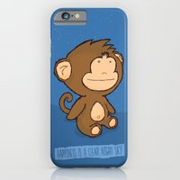 iPhone & iPod Case featuring Happiness is a clear night sky by Monkey Chow