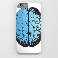 iPhone & iPod Case featuring Bird Brain by Portia Alice