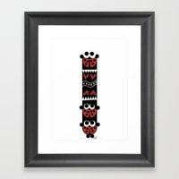Ladybug's Totem Framed Art Print