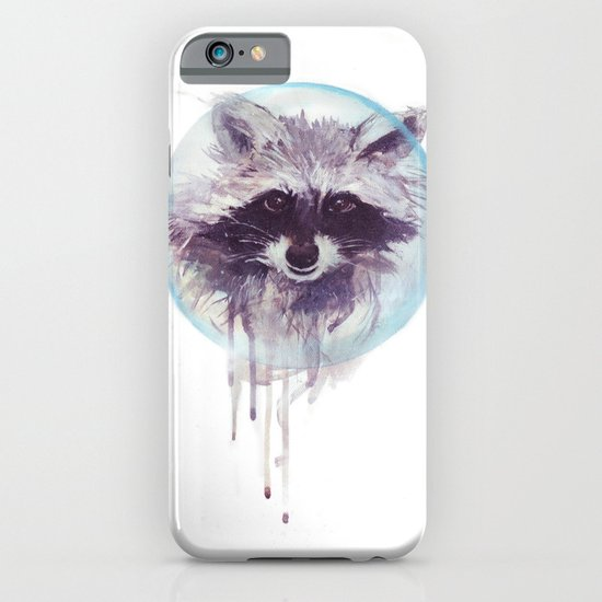 Hello Raccoon! iPhone & iPod Case
