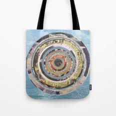 Round Sea Tote Bag