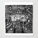 Lost cabin 666 Canvas Print