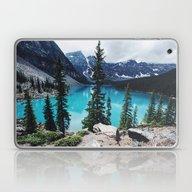 Lake Moraine Alberta Laptop & iPad Skin
