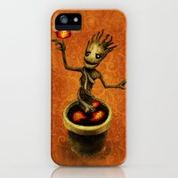 iPhone 5s & iPhone 5 Cases featuring Groot by Anna Shell