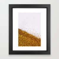 My Favorite Color II (NOT REAL GLITTER) Framed Art Print