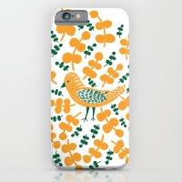 iPhone & iPod Case featuring Birdie Bird by Petra Wolff