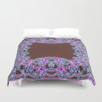 In The Pink Colorfoil Bandanna Duvet Cover