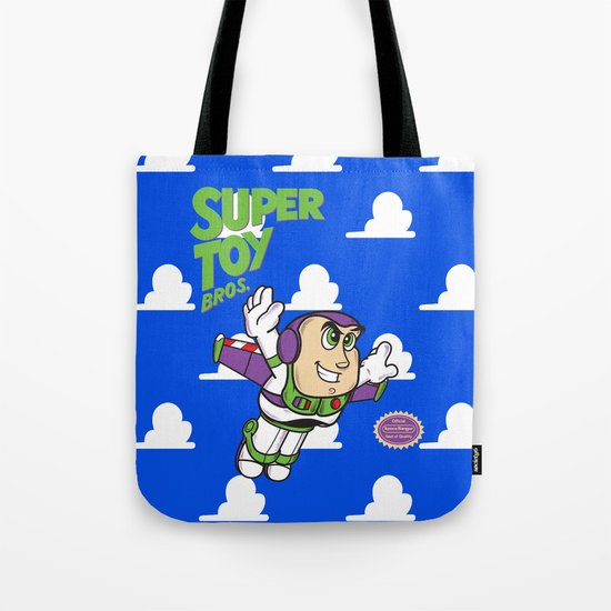 Super Toy Bros. Tote Bag