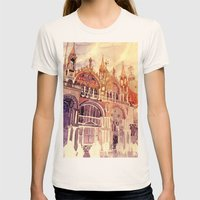Venezia Womens Fitted Tee Natural SMALL
