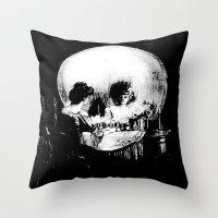 All Is Vanity: Halloween… Throw Pillow