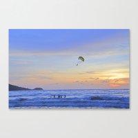 Sunset on Patong Beach Canvas Print