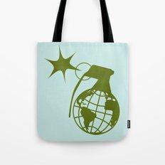 Earth Grenade Tote Bag