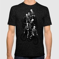 The Gang Mens Fitted Tee Tri-Black SMALL