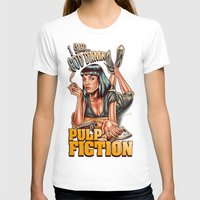 pulp fiction T-shirts featuring Mia Wallace - Pulp Fiction by Renato Cunha