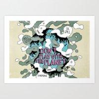 PLANISFEAR Art Print