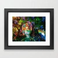 The Butterfly Ball Framed Art Print