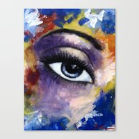 Title: Very Beautiful Ey… Canvas Print