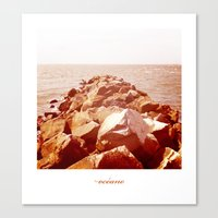 océano 4 Canvas Print