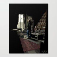 To Build A Home - Colour… Canvas Print