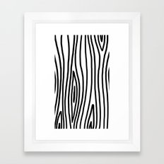 Raw Pattern Series: n.3 Framed Art Print