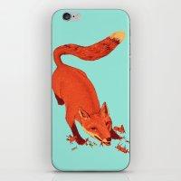 Fox Hunting  iPhone & iPod Skin