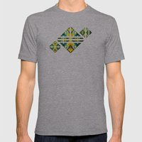SAMSARA Mens Fitted Tee Athletic Grey SMALL