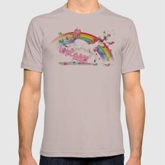 Unicorn: Destroyer of Ponies! Mens Fitted Tee Cinder SMALL