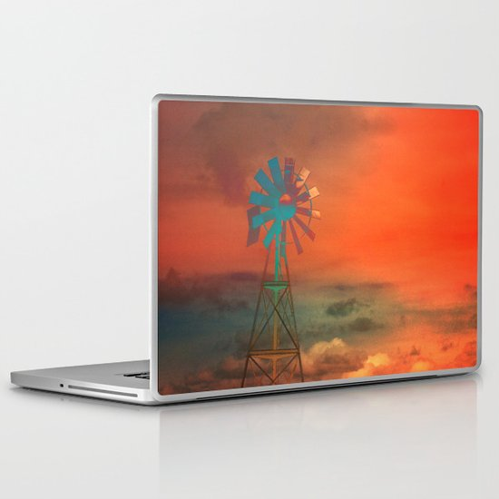 Red Sky at Night Laptop & iPad Skin