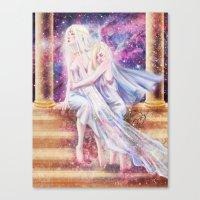 Fate : Universe Canvas Print