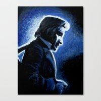 Mr. Cash Canvas Print
