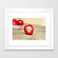 An Apple a Day... Framed Art Print