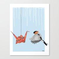 Birds #1 Canvas Print