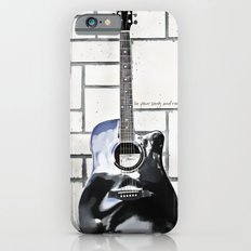 Be Your Song and Rock On in White Slim Case iPhone 6s