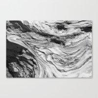 Monolithic Erosion Swirl Canvas Print
