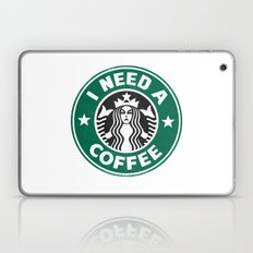 I need a coffee! Laptop & iPad Skin